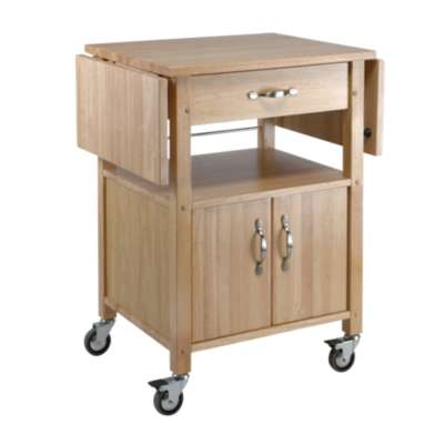 Picture for Kitchen Cart with Double Drop Leaves