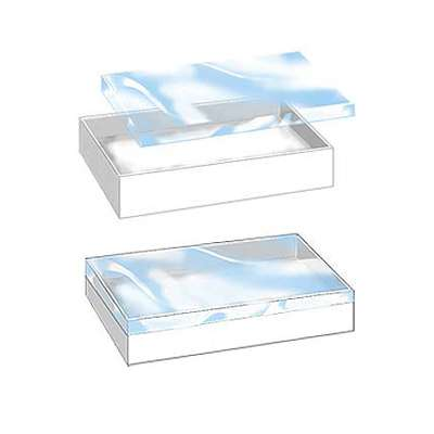 "Picture for Vu-Top Cotton-Filled Box, 3"" x 2"" x 1"", 100ct by Smart Fixtures"