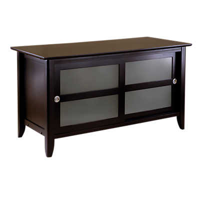Picture of TV Stand with Sliding Doors