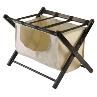 Picture for Collapsible Luggage Rack with Laundry Basket
