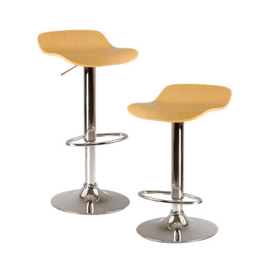93489-NATURAL: Customized Item of Adjustable Height Stool, Set of 2 (93489)