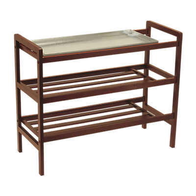 Picture of Three Tier Shoe Rack with Tray