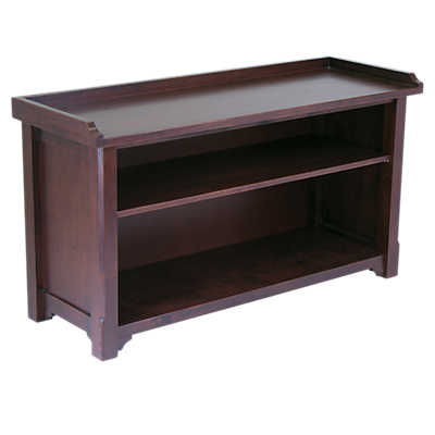 Picture of Storage Bench with Shelves