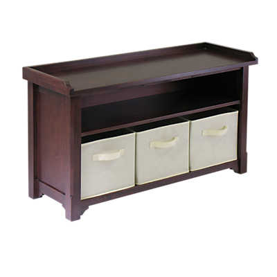 Picture of Cubbie Bench with Shelf and Baskets