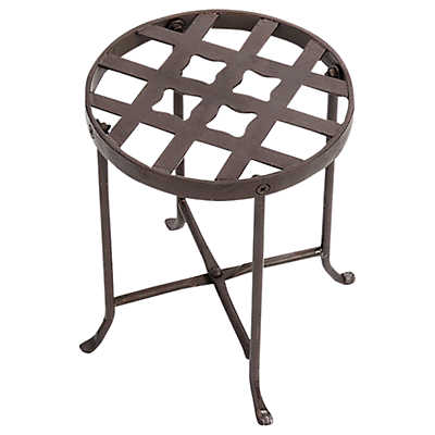 Picture of Wrought Iron Flowers Plant Stand