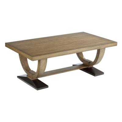 Picture of Evoke Trestle Dining Table by American Drew
