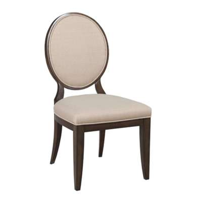 Picture for Grantham Hall Upholstered Side Chair with Decorative Back, Set of 2 by American Drew