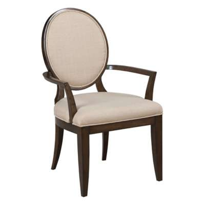 Picture for Grantham Hall Upholstered Arm Chair with Decorative Back, Set of 2 by American Drew