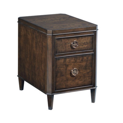 Picture of Grantham Hall Charging Chairside Table by American Drew