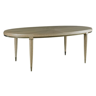 Picture of AD Modern Classics Lloyd Oval Dining Table by American Drew