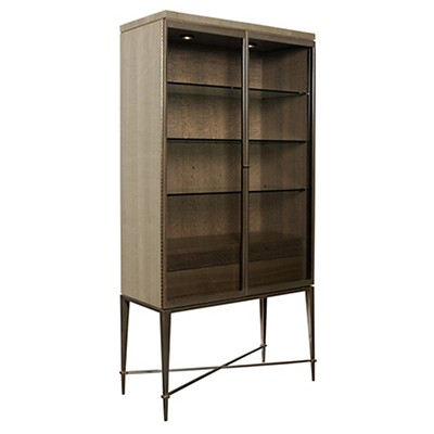 Picture Of Ad Modern Classics Knox Curio Cabinet By American Drew