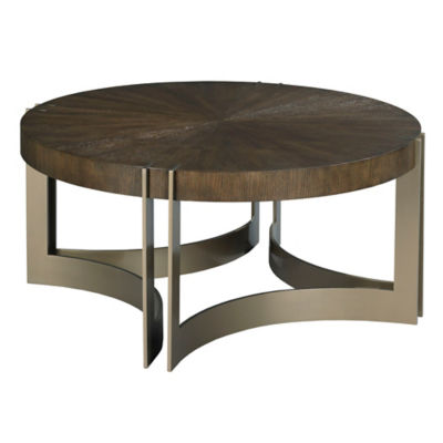 Picture of AD Modern Classics Kenton Round Cocktail Table by American Drew