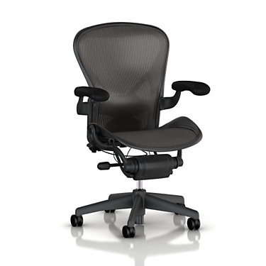 AE11AE213AWCPJG1C7BK3D0121XV: Customized Item of Classic Aeron Chair by Herman Miller (AE11)