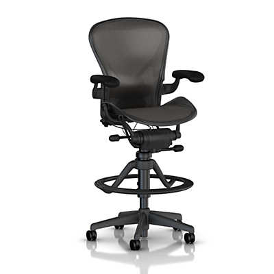Picture of Aeron Stool, Low Height by Herman Miller