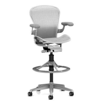 Picture for Aeron Stool, High Height by Herman Miller