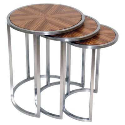 Picture for Greta Nesting End Tables, Set of 3 by Allan Copley