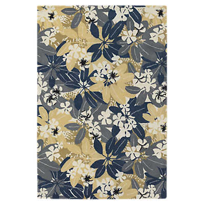 Picture of Alfred Shaheen Floral Rug