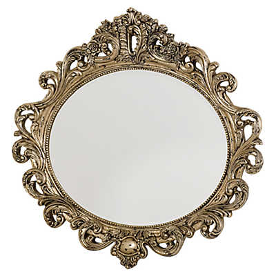 Picture of Jessica McClintock Boutique Oval Decorative Mirror by American Drew