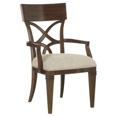 Bob mackie splat back arm chair smart furniture - Bob mackie discontinued bedroom furniture ...