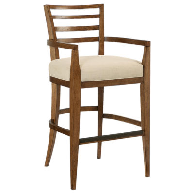 Picture of Grove Point Ladder Back Bar Stool, Set of 2 by American Drew