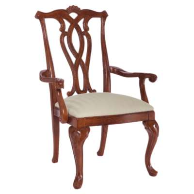 Picture for Cherry Grove Pierced Back Arm Chair by American Drew