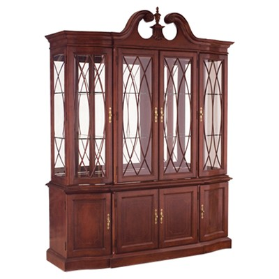 Picture of Cherry Grove Classic Antique Cherry China Cabinet by American  Drew - American Drew Cherry Grove Classic Antique Cherry China Cabinet