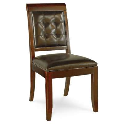 Picture for Tribecca Upholstered Leather Side Chair by American Drew