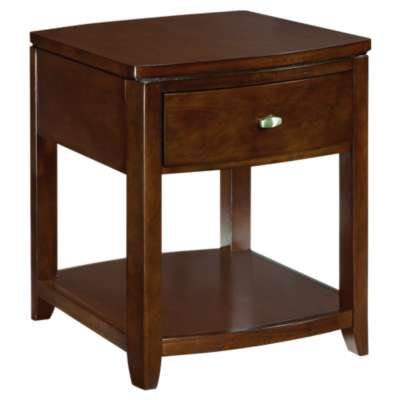 Picture for Tribecca Root Beer End Table by American Drew