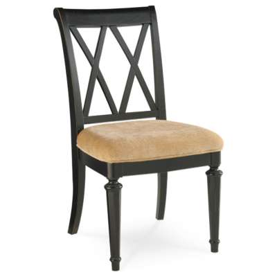 Picture for Camden Dark Splat Side Chair by American Drew