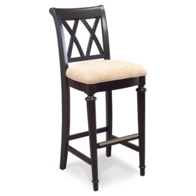 Picture of Camden Dark Barstool by American Drew
