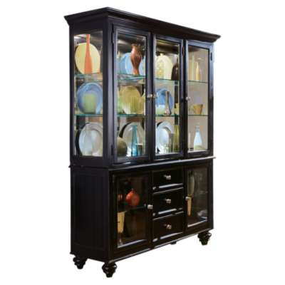 Picture for Camden Dark China Cabinet by American Drew