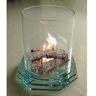Picture of Glass Base Fireplace