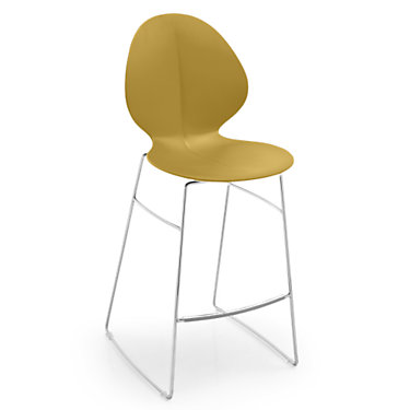 BASILSTOOL-CS1354-TAUPE: Customized Item of Basil Stool by Calligaris (BASILSTOOL)