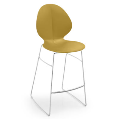 BASILSTOOL-CS1354-MUSTARD: Customized Item of Basil Stool by Calligaris (BASILSTOOL)