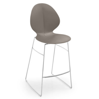 BASILSTOOL-CS1355-TAUPE: Customized Item of Basil Stool by Calligaris (BASILSTOOL)