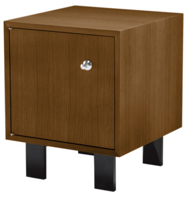 BC1618.CDCWA2U-LIGHT BROWN WALNUT: Customized Item of Nelson Cabinet with Door by Herman Miller (BC1618.CD)