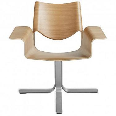 BC1CHRKIT-MIDNIGHTONASHSTAINLESSSTEEL: Customized Item of Buttercup Chair by Blu Dot (BC1CHRKIT)
