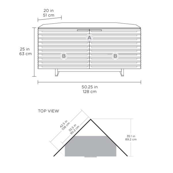 BDI 8175 Dimensions