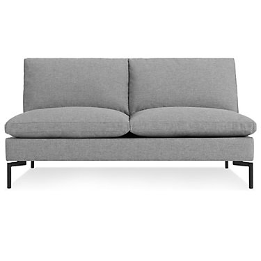 BDNEWSTARMSOFAWH-BL: Customized Item of New Standard Armless Sofa by Blu Dot (BDNEWSTARMSOFA)