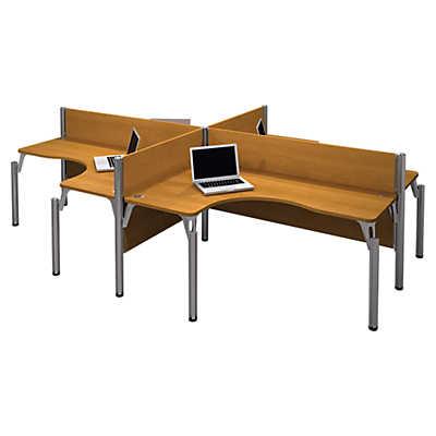 Picture of Pro Biz 4-Desk Workstation by Bestar