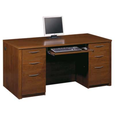 Picture for Embassy 2-Pedestal Desk by Bestar