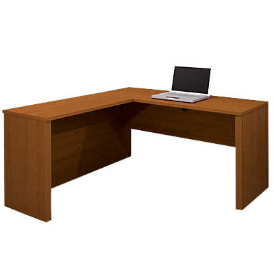 Picture of Prestige Plus L-Shaped Corner Desk by Bestar