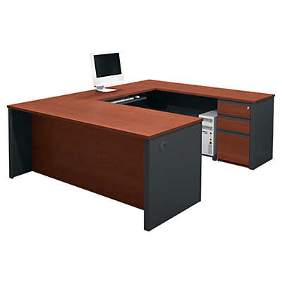 Picture of Prestige Plus U-Shaped Desk by Bestar