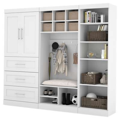 "Picture for Pur 97"" Mudroom Kit Shelving System by Bestar"