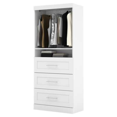 "Picture for Pur 36"" Storage Unit with 3-Drawer Set by Bestar"