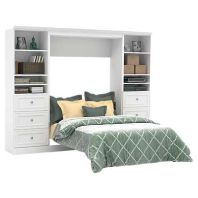 Picture for Versatile 109'' Full Wall Bed Kit with Drawers by Bestar