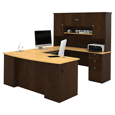 Inwood U Shaped Workstation Smart