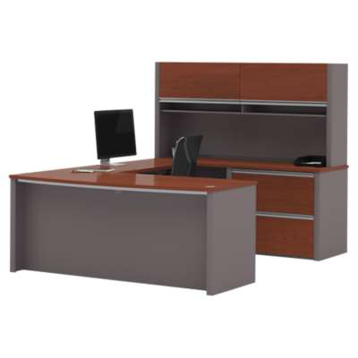 Picture for Connexion U-Shaped Workstation Kit with Hutch by Bestar