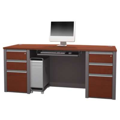 Picture for Connexion Executive Desk Kit with Pedestals by Bestar