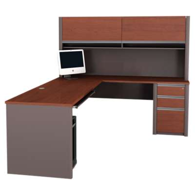 Picture for Connexion L-Shaped Workstation Kit with Pedestal by Bestar